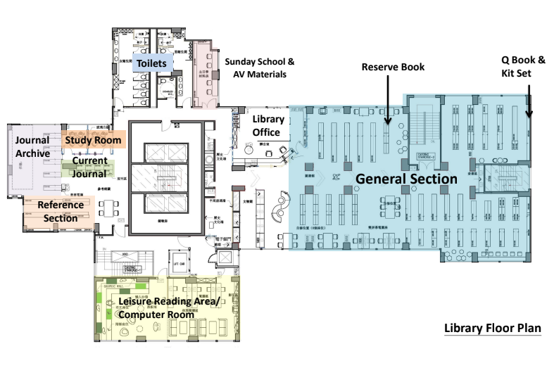 library floor plan